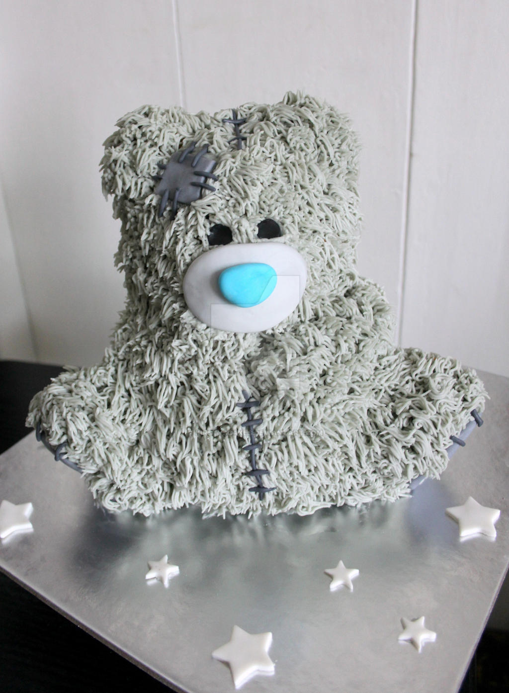 Robert Teddy Cake Artist : Tatty Teddy Cake by KirstysCakes on DeviantArt