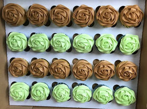 Coffee Cupcakes and Peppermint Chocolate Cupcakes