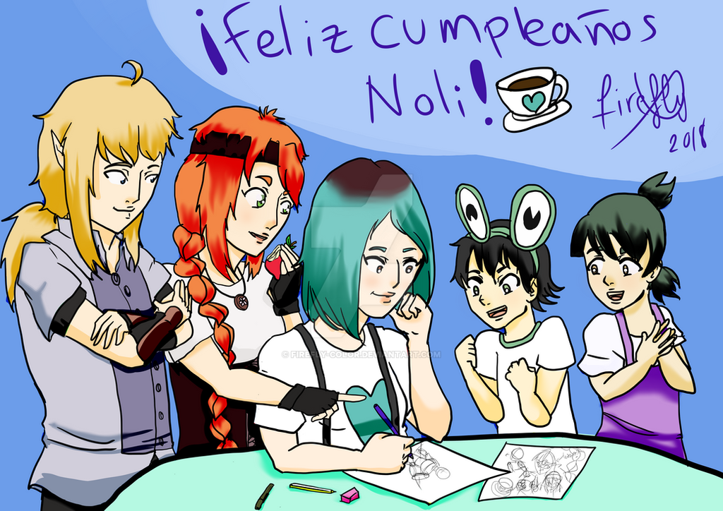 Felicidades Noli by Firefly-color