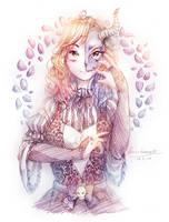 .:G:. Lady Skull by asuartsu