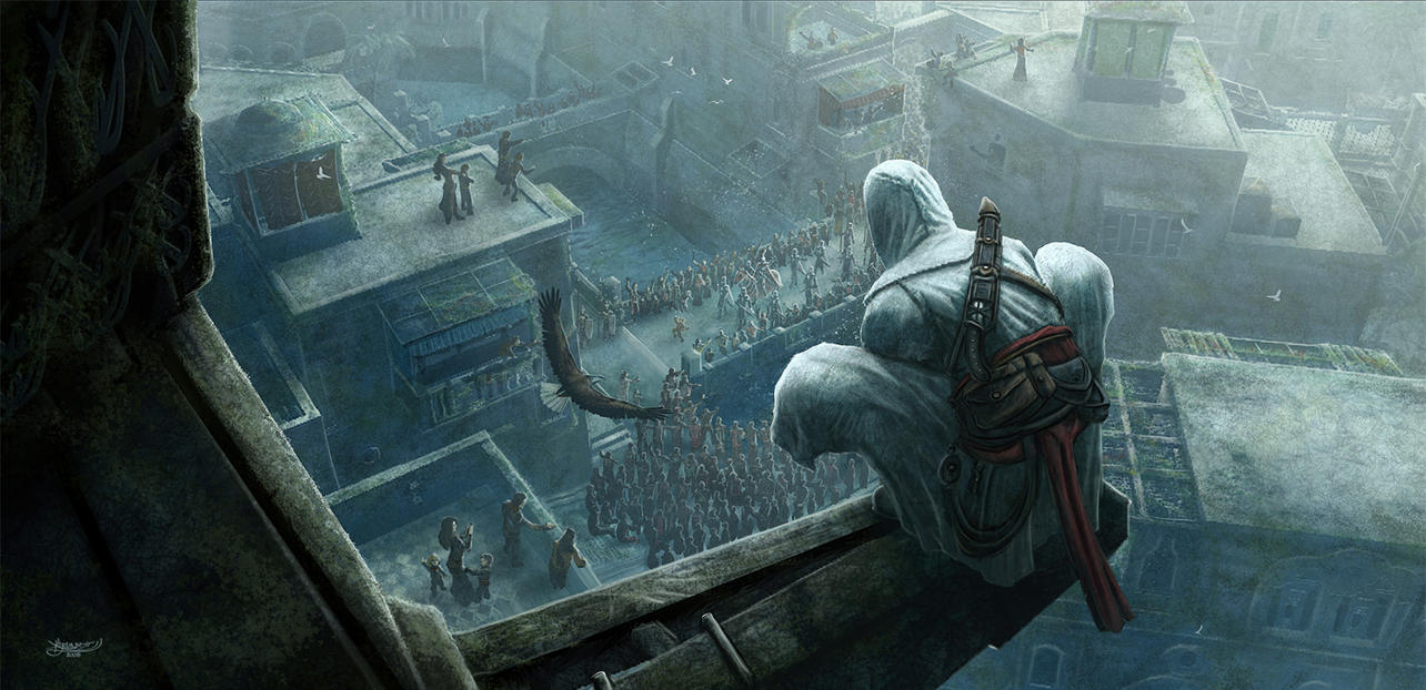 Assassin's Creed fanart by Kerembeyit Assassin__s_Creed_Fanart_by_kerembeyit