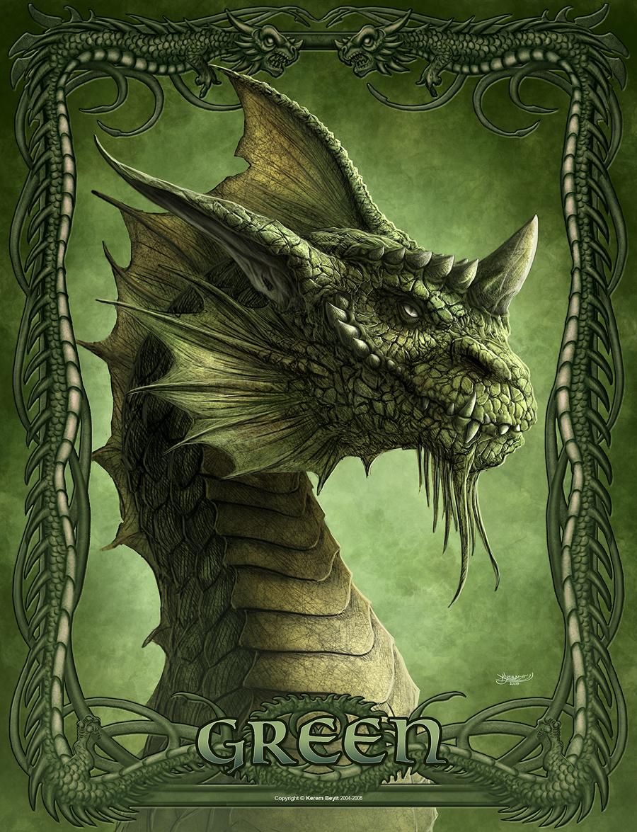 Green by kerembeyit
