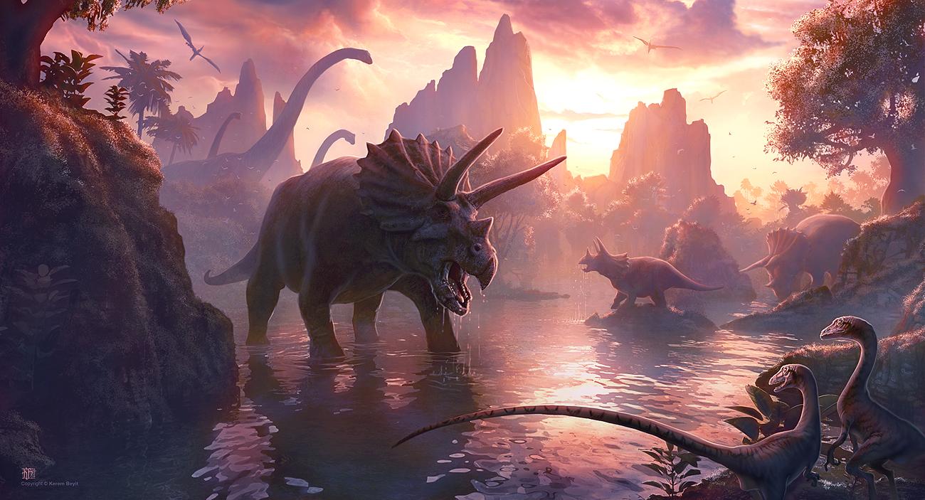 Cretaceous Sunset