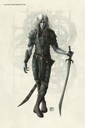 Dark Elf male by kerembeyit