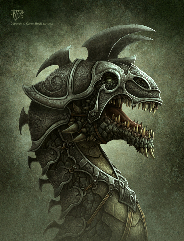 Battle Dragon by kerembeyit