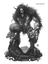 Artic Troll by kerembeyit