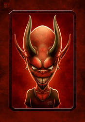 Cehennem Online Mascot by kerembeyit