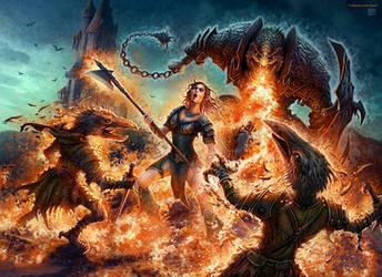 Dragonborn Breath by kerembeyit