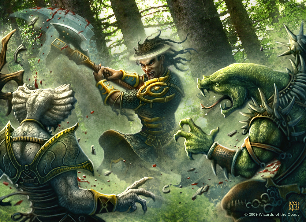 Ardent Vigorous Offensive by kerembeyit