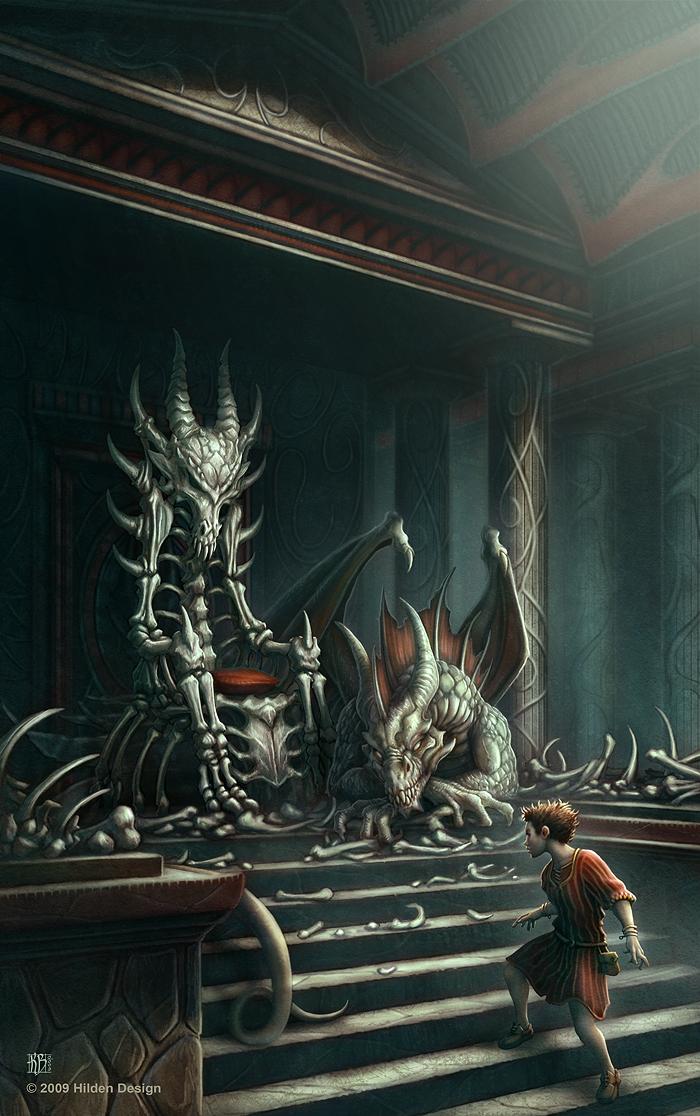 Dragonbone Chair Cover by kerembeyit