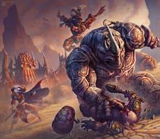 Braxat Battle by kerembeyit