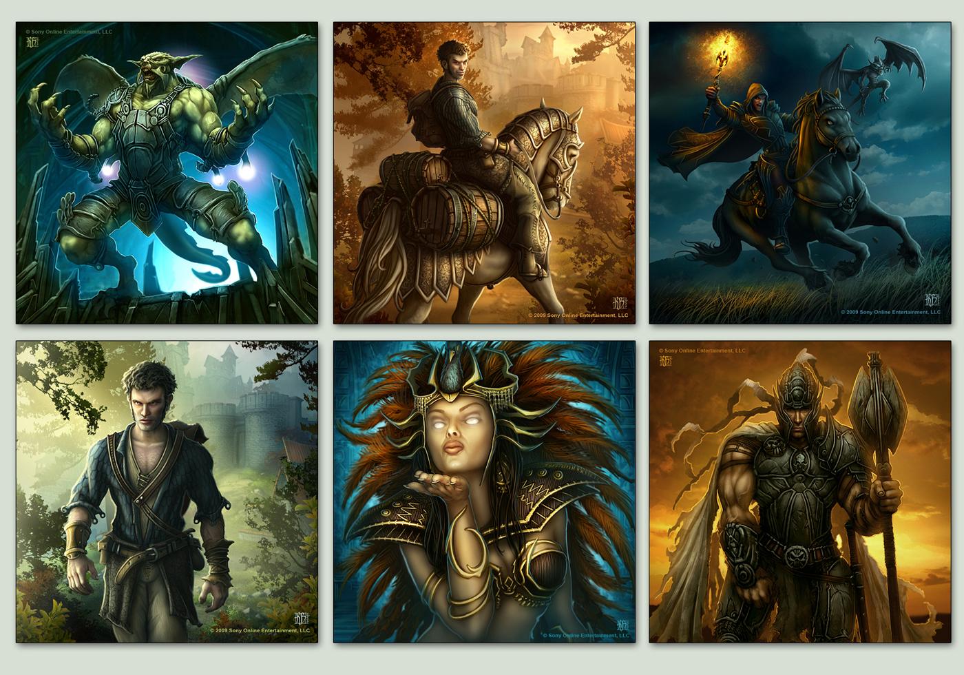 LON Cards Set 9-10 by kerembeyit
