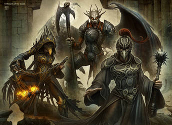 The Ebony Guard by kerembeyit
