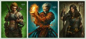 DOA Characters by kerembeyit
