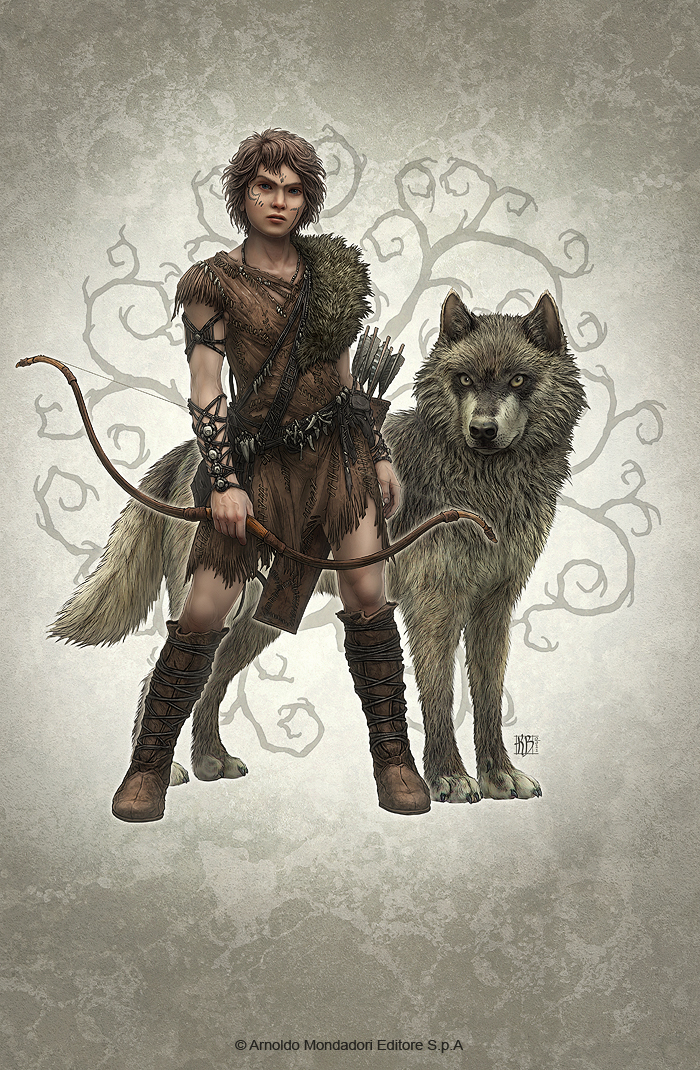 Wolf Brother by kerembeyit