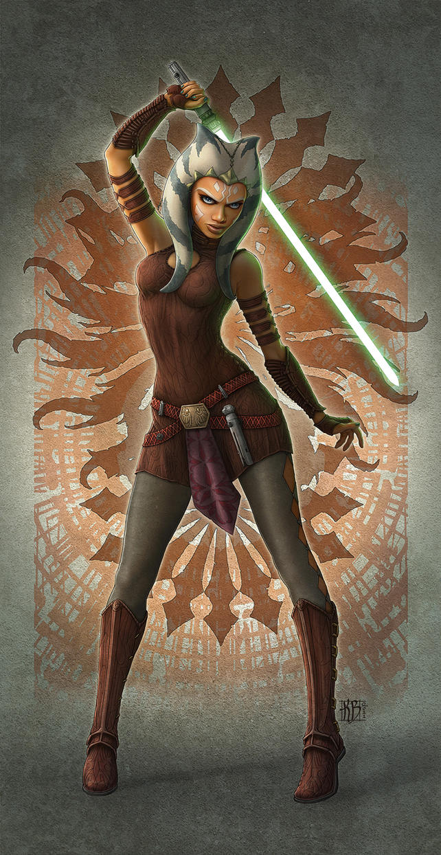 Ahsoka Tano Fan Art by kerembeyit