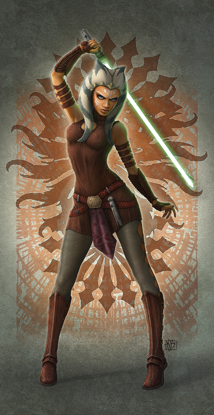 Ahsoka Tano Fan Art by kerembeyit on DeviantArt