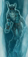 Hyrkzag the Frost Giant Ghost