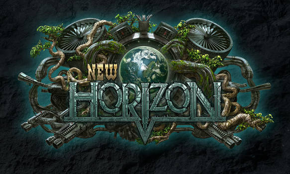 New Horizon Logo by kerembeyit