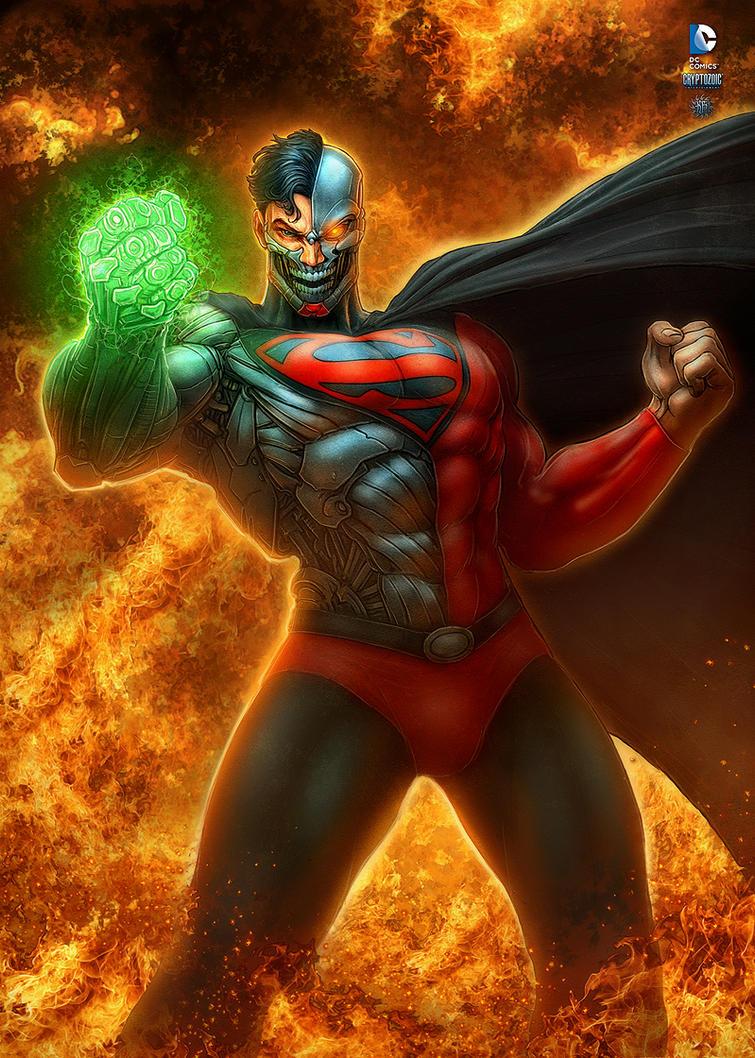 Cyborg Superman by kerembeyit
