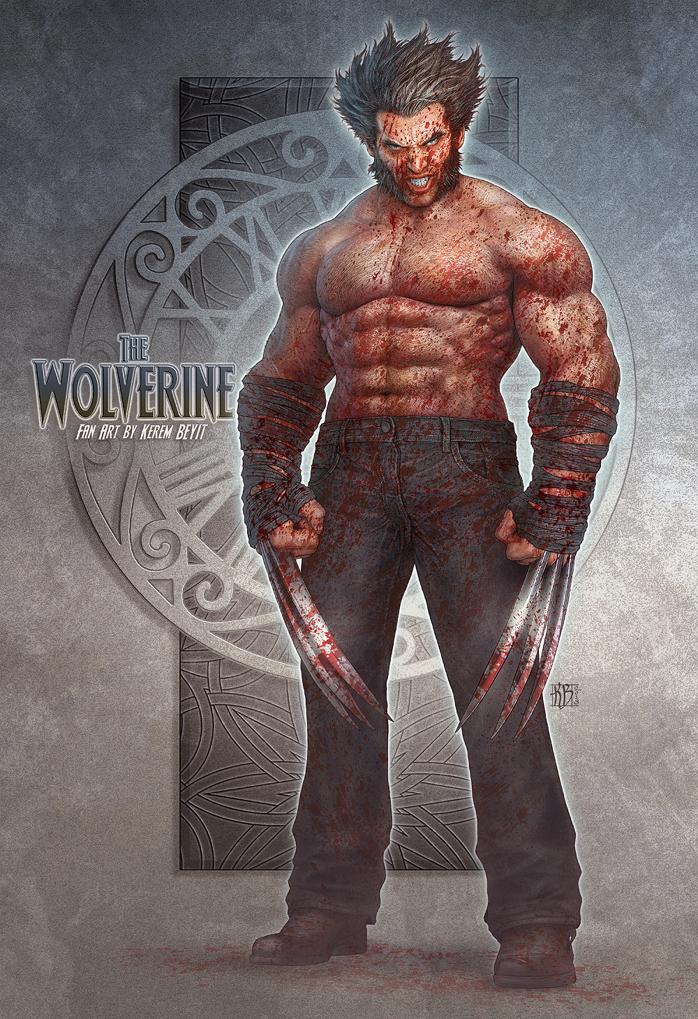 WOLVERINE Fan Art by kerembeyit
