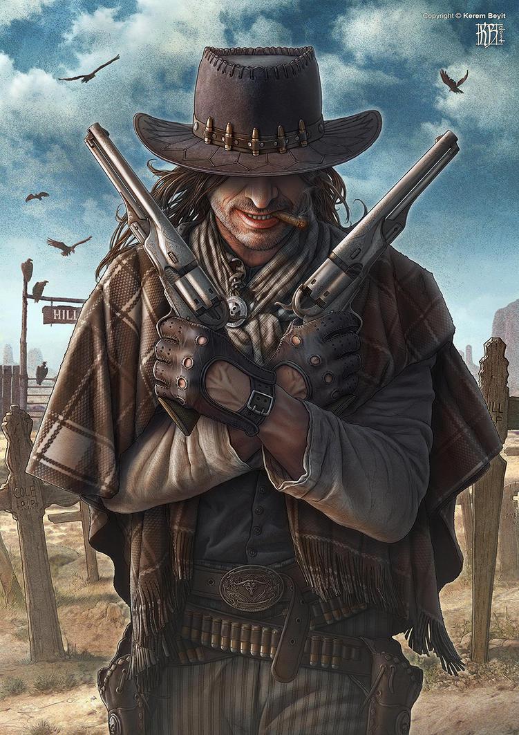 Gunslinger by kerembeyit