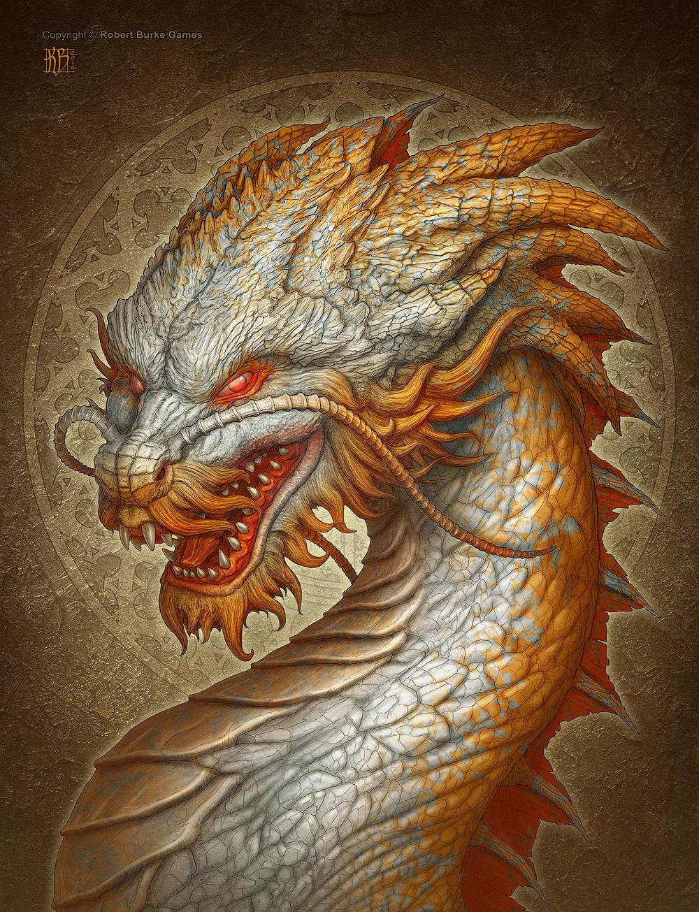 Oriental Dragon by kerembeyit