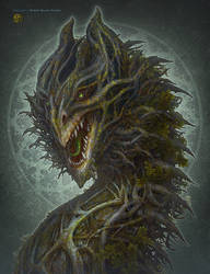 Forest Dragon by kerembeyit