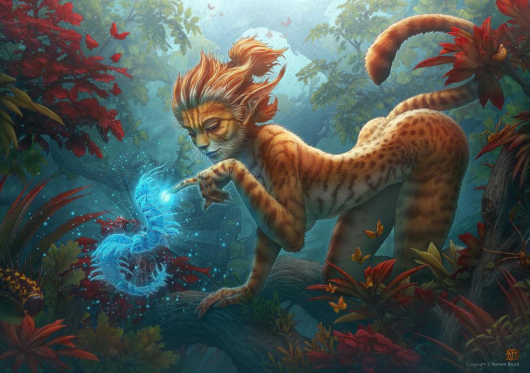 Poking The Centipede Spirit by kerembeyit