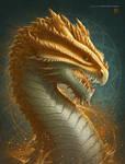 Citrine Dragon