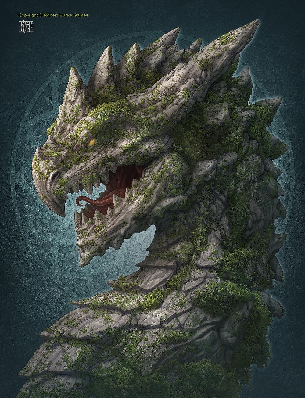 Earth Dragon: Earth Dragon By Kerembeyit On DeviantArt