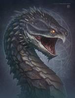 Turtle Dragon by kerembeyit