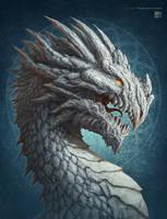 White Dragon by kerembeyit