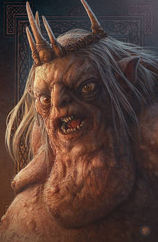 Hobbit Fanart - The Goblin King