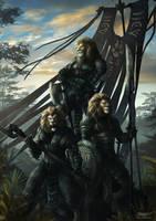 Claw Clan by kerembeyit