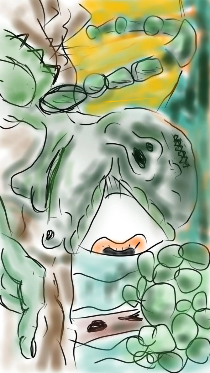alien by ashesNbinary