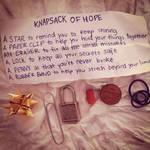 knapsack of hope!