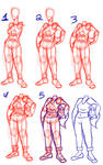 How to draw a person with a detached head by Gyzmo-Grim