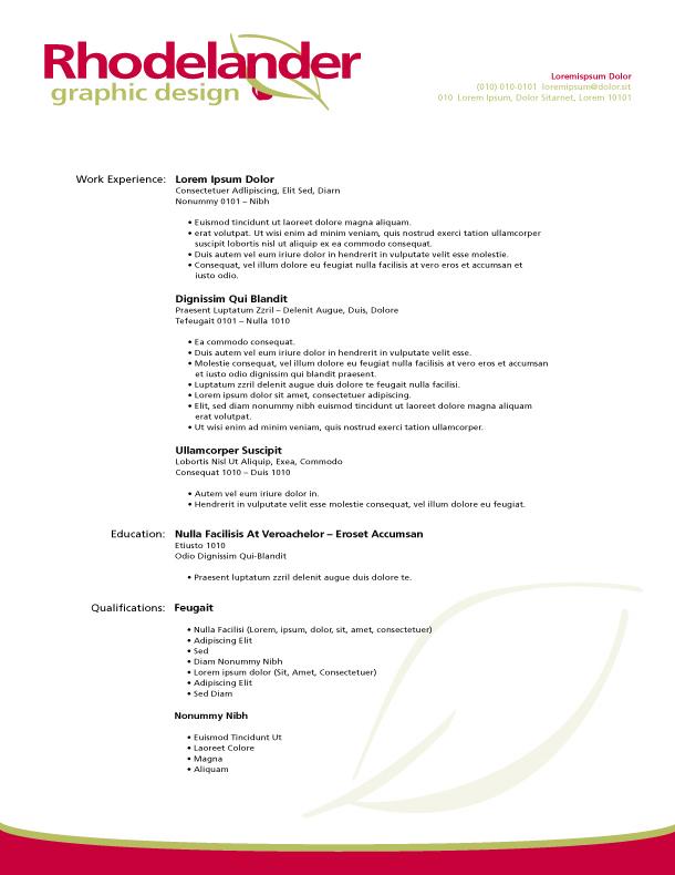 Personal Letterhead V. 1.0 by polegnyn on DeviantArt