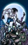 Lobo vs. Skrulls