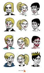 True Blood Eric Sookie Bill by Delfunkster