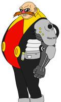 Prototype Eggman by Sonicguru