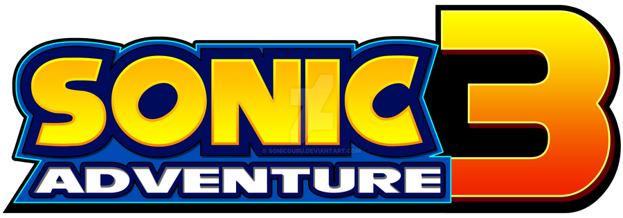 Sonic 3 Generations logo by ShadeTheHedgehog77 on DeviantArt