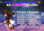 SA2 All A-Rank Guide - Shadow Final Chase by Sonicguru
