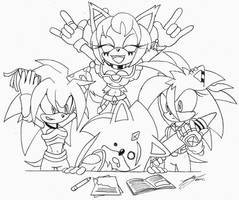 These Girls Are Crazy by Sonicguru