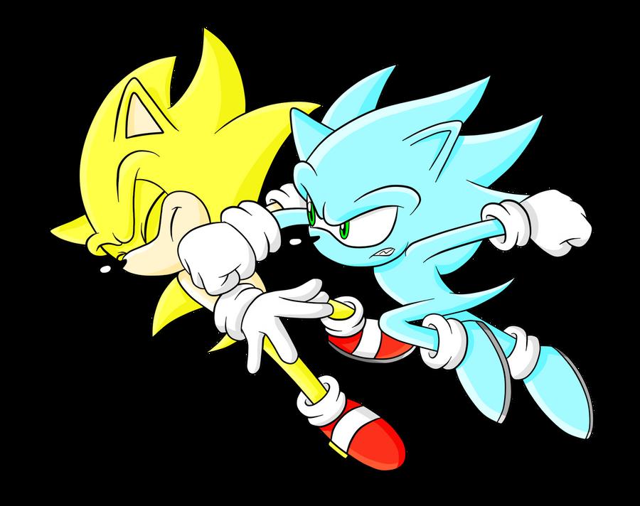 Super Sonic vs Nazo by Sonicguru on DeviantArt