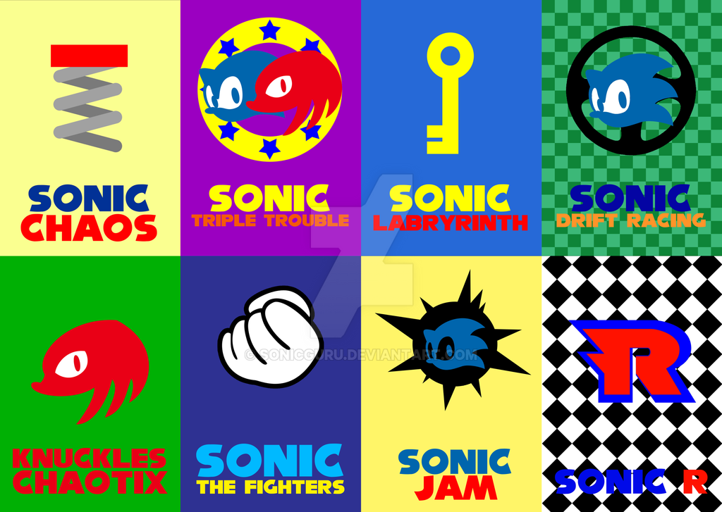 Sonic game cards vol 4 by sonicguru on deviantart
