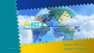 Sonic Colours Zone Title - Frozen Factory