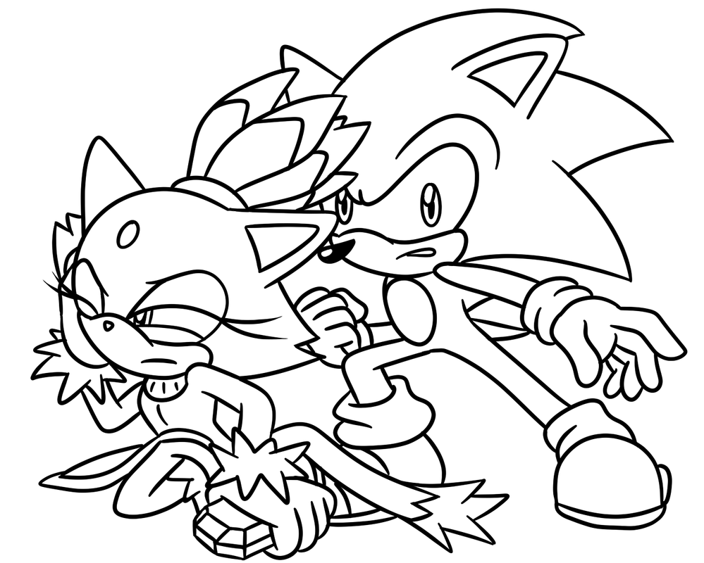 sonic satam coloring pages - photo#30