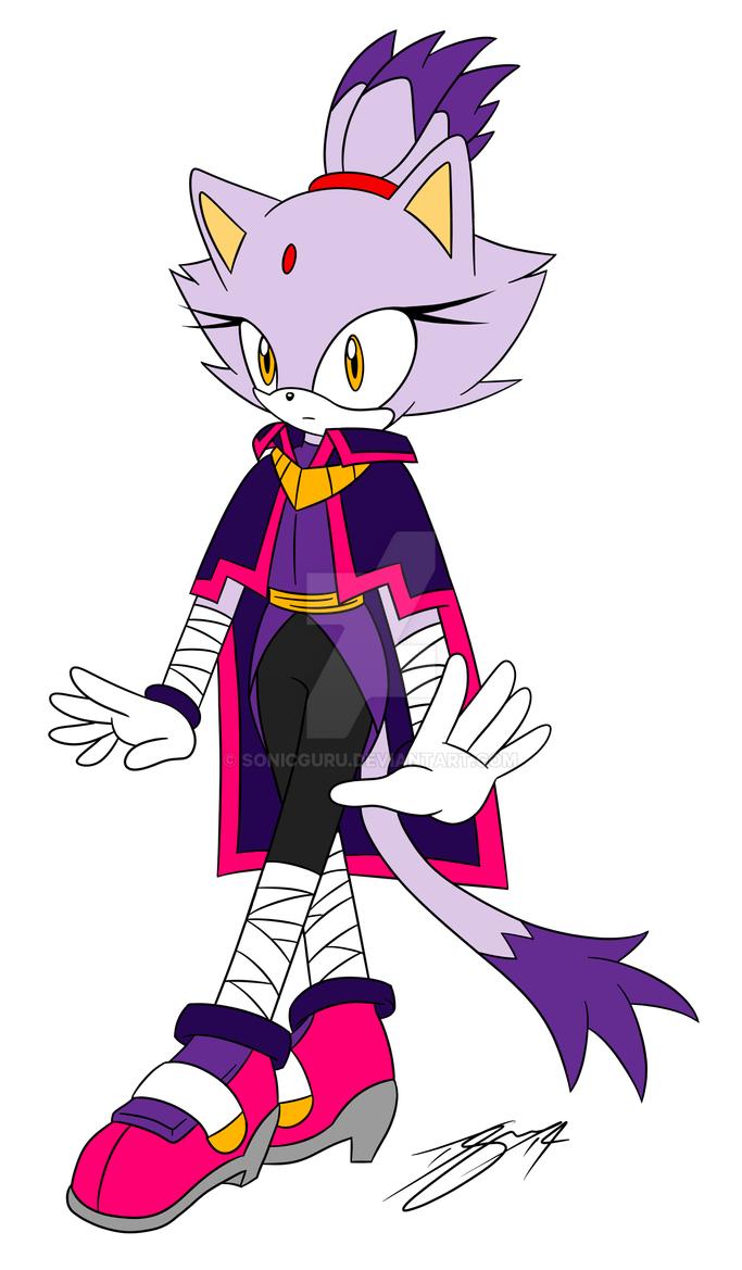 Blaze the Cat V2 - Sonic Boom by Sonicguru